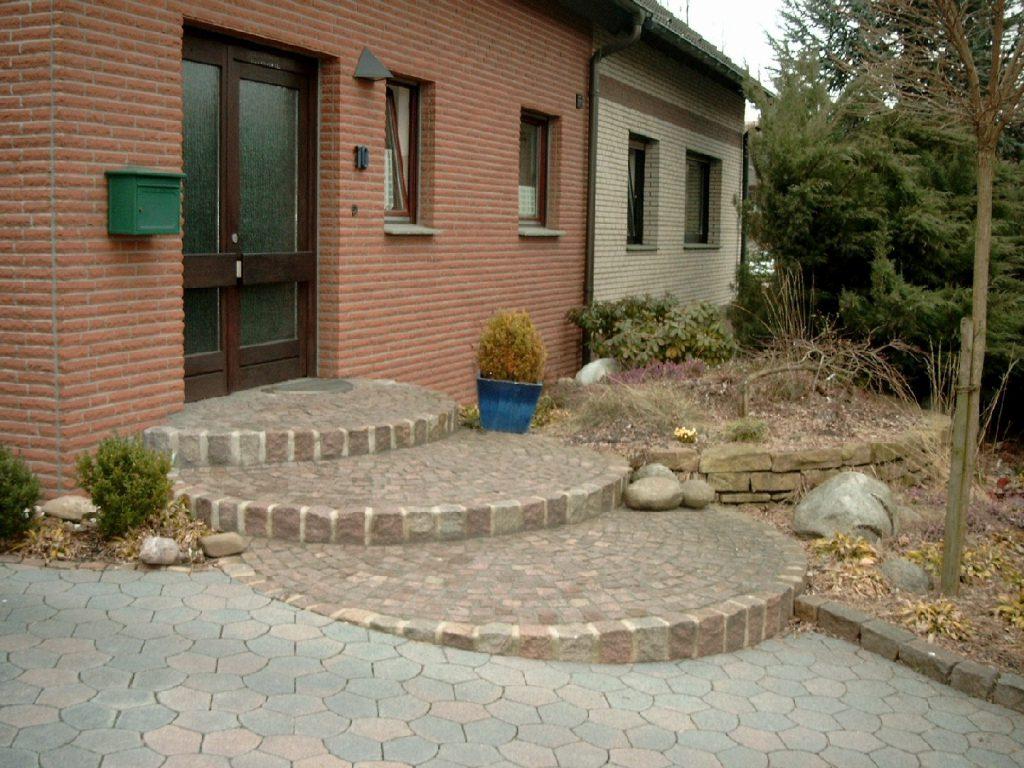 Eingangsstufen Hausgarten Dortmund