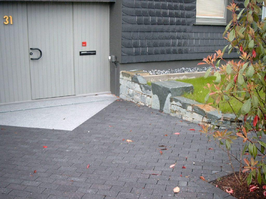 Pflasterarbeiten Am Eisenberg, Niederbergheim