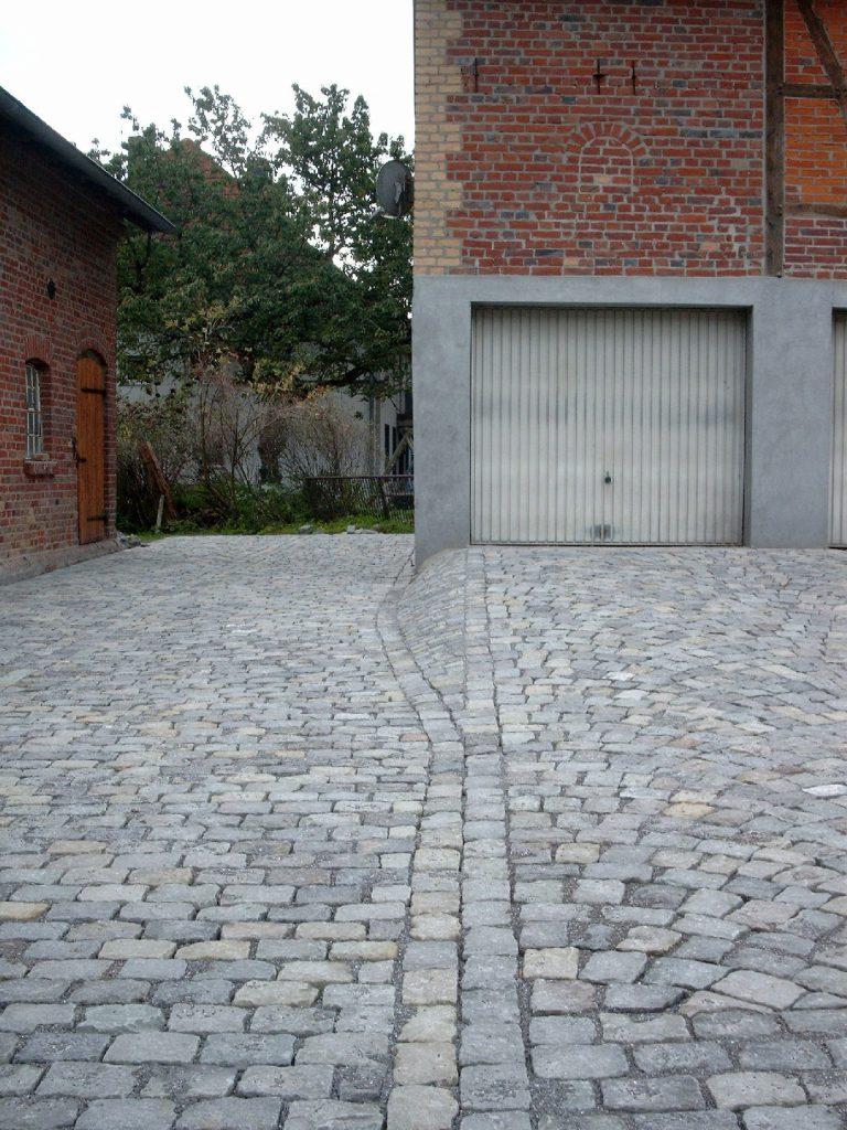 Pflasterarbeiten Hofanlage Stocklarn, Welver